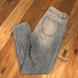 GAP Light Wash Distressed Jeans